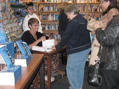 Book signing of Miracles Of Hope And Promise